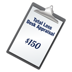 total loss desk appraisal icon